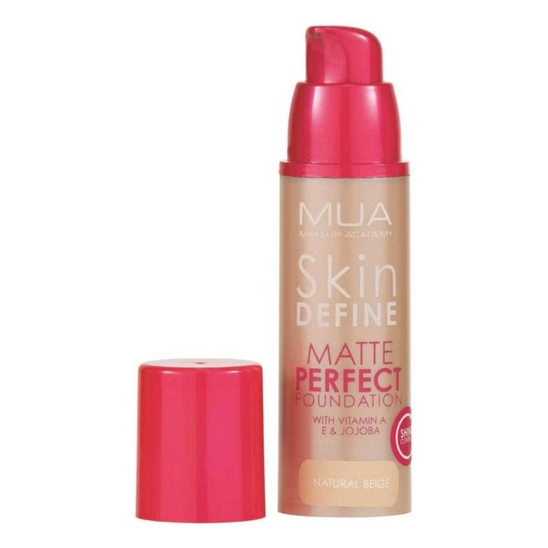 Make Up Academy Skin Define Matlaştırıcı Fondöten - Natural Beige
