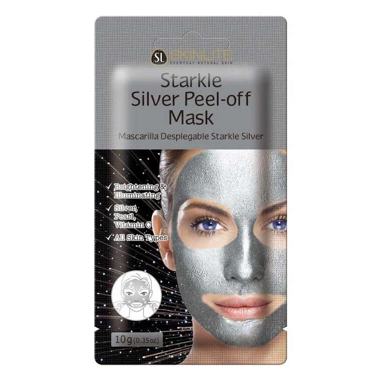 Skinlite Pırıltılı Gümüş Yüz Maskesi
