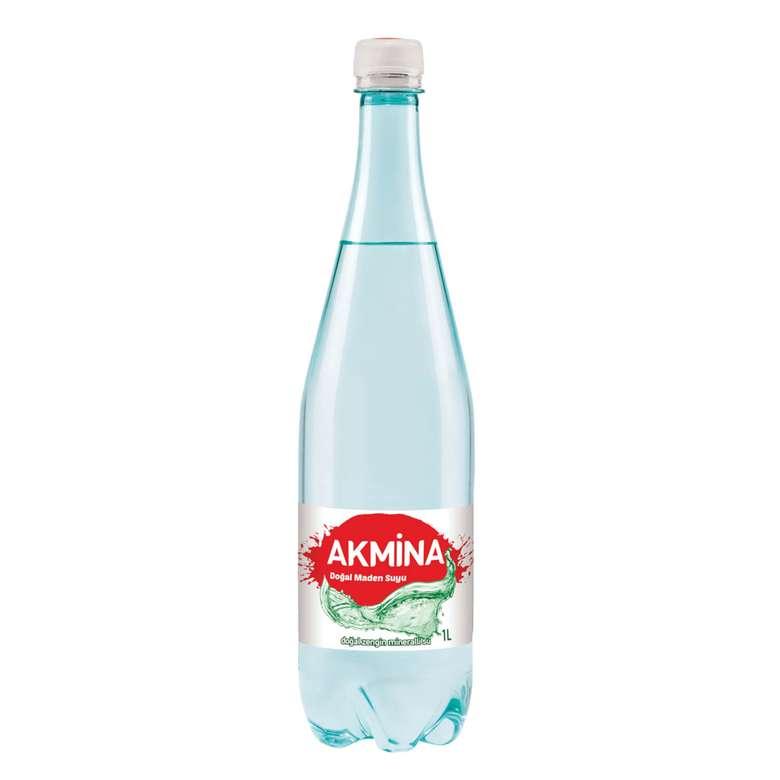 Akmina Maden Suyu Sade 1 L