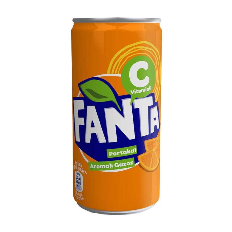 Fanta Gazlı İçecek Portakal 200 Ml