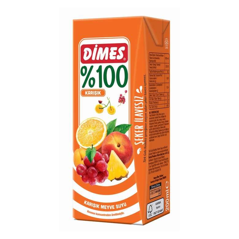 Dimes Meyve Suyu Karışık 200 Ml