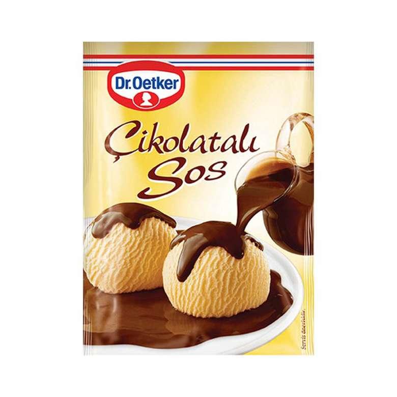 Dr.Oetker Çikolatalı Sos 128 G
