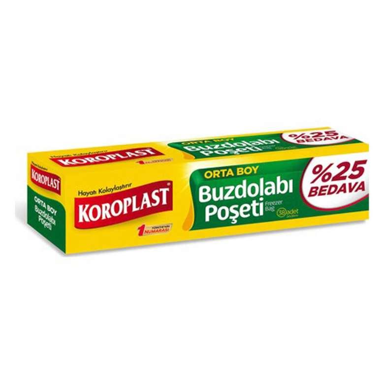 Koroplast Buzdolabı Poşeti 20'li