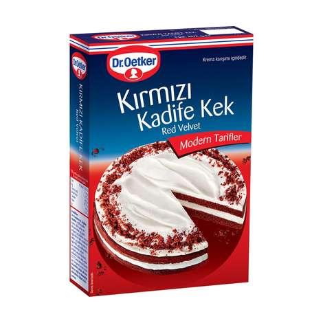 Dr.oetker Kırmızı Kadife Kek Karışm 462g