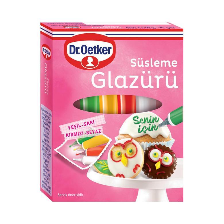 Dr.oetker Dekor Süsleme Glazürü 76 G