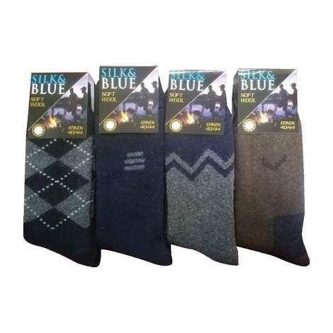Silk&Blue Erkek Yün Havlu Çorap