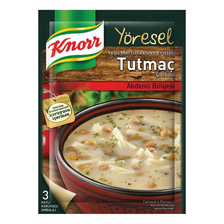 Knorr Çorba Yöresel Tutmaç 93 G