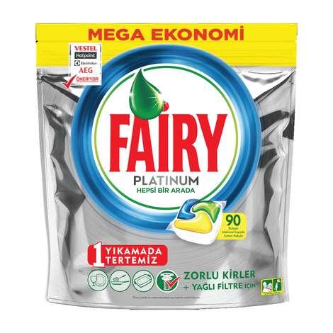 Fairy Platinum Bulaşık Makinesi Kapsülü 90'lı
