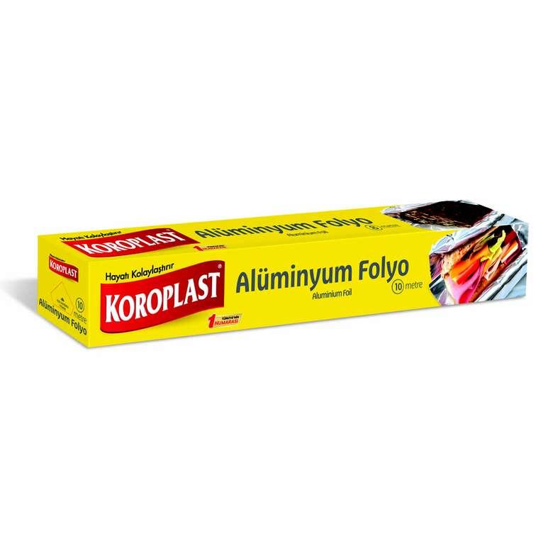 Koroplast Alüminyum Folyo 10 M