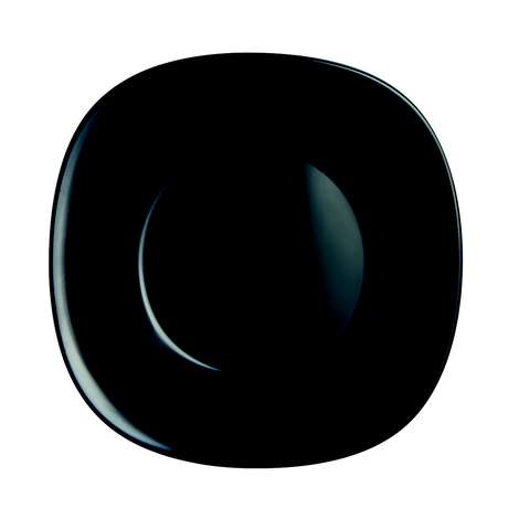 Luminarc Arcopal Yemek Tabağı Siyah  21 Cm