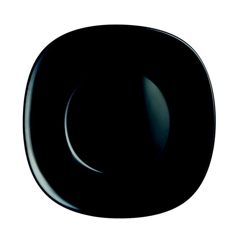 Arcopal Yemek Tabağı Siyah  21 Cm