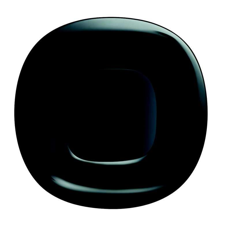 Luminarc Servis Tabağı Siyah Arcopal 26 Cm