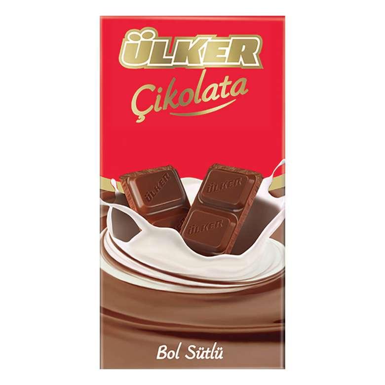 Ülker Çikolata Sütlü 80 G