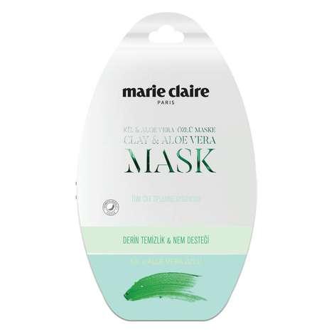 Marie Claire Cilt Bakım Maskesi Aloe Veralı ve Killi  15 Ml