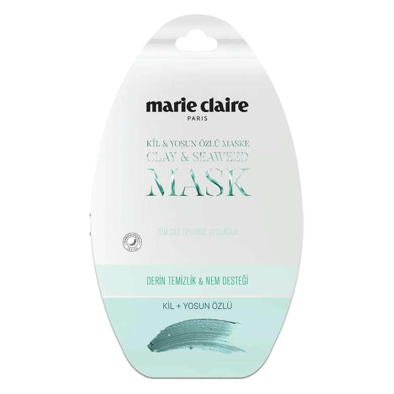 Marie Claire Cilt Bakım Maskesi Yosunlu ve Killi  15 Ml