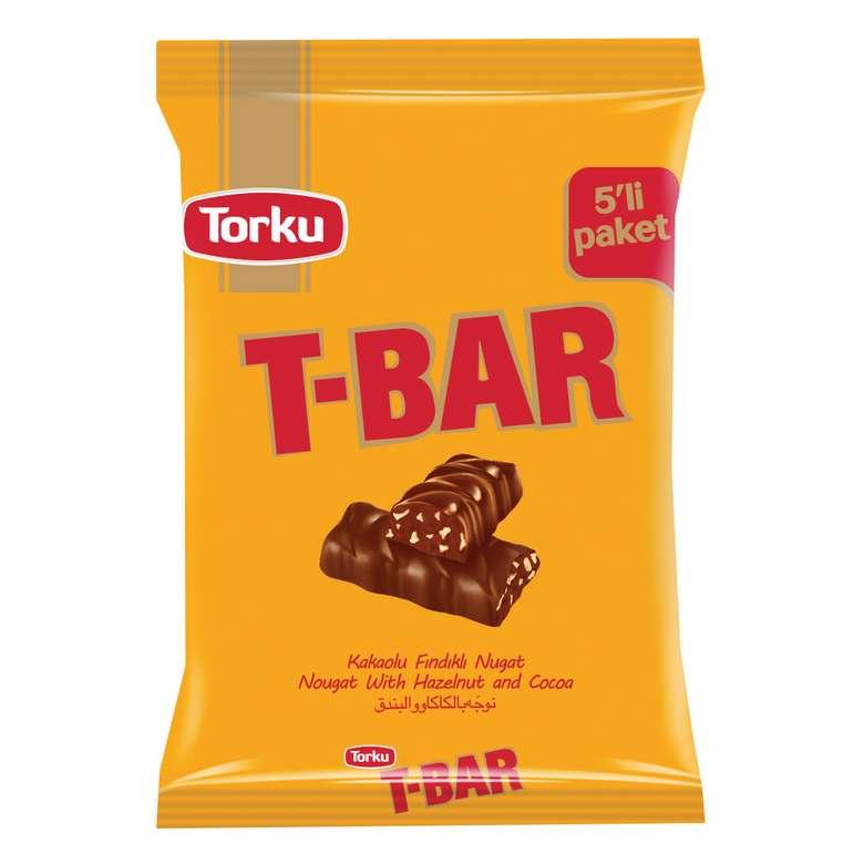 Torku T-bar Bar Çikolata Fındık Parçacıklı 5*32 G