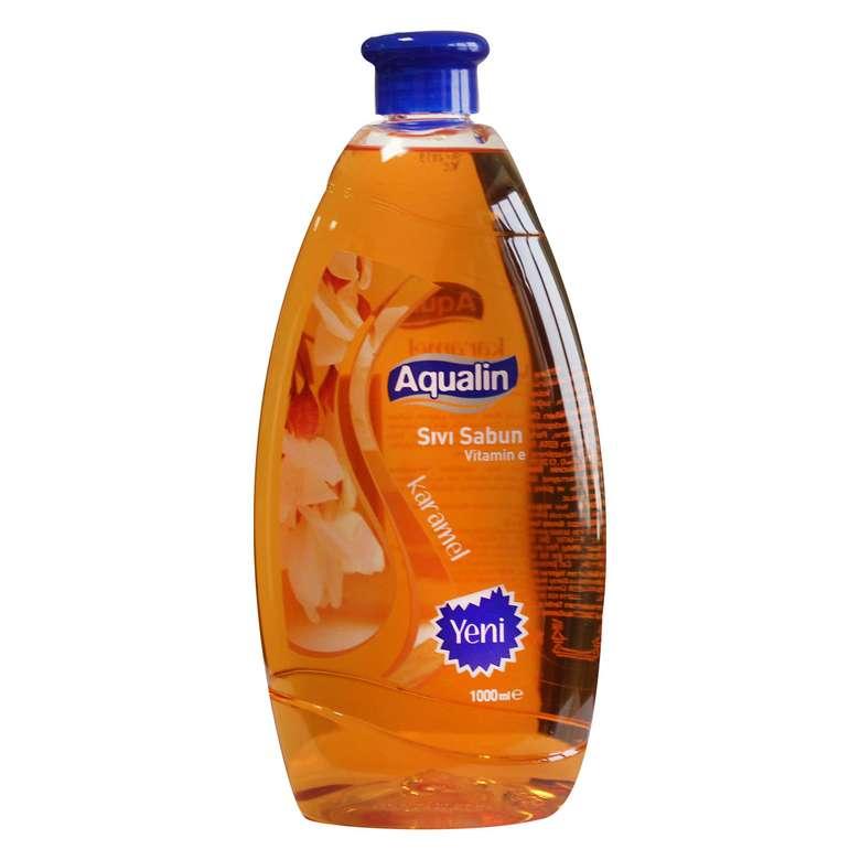 Aqualin Sıvı Sabun Karamel 1000 Ml