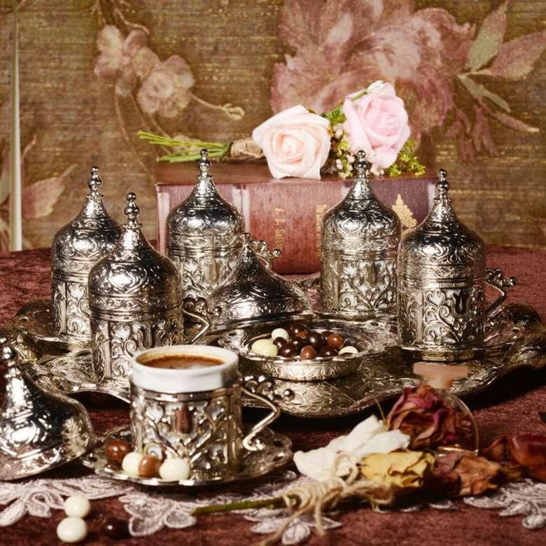 Nostaljik Kahve Fincan Takımı 6'Lı
