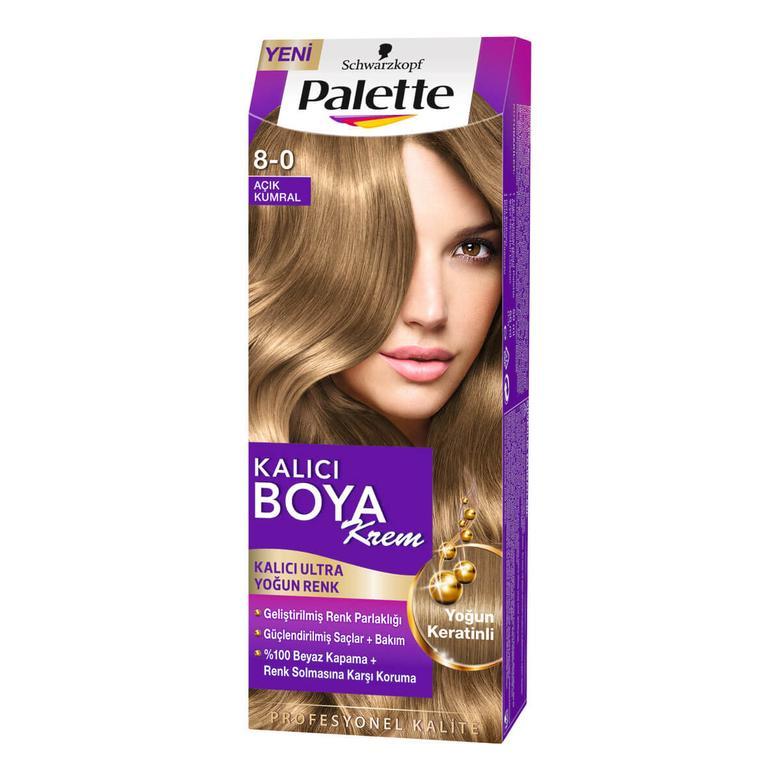 Palette Saç Boyası Koyu Sarı 8 - 0
