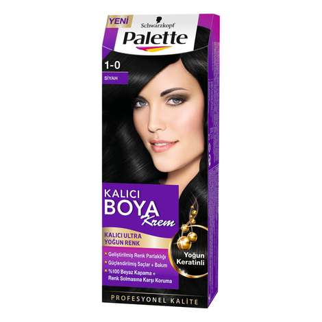Palette Saç Boyası Siyah 1 - 0