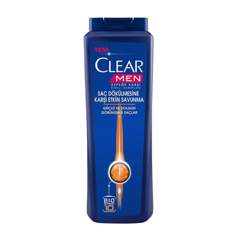 Clear Men Şampuan  Cool Sport 500 Ml