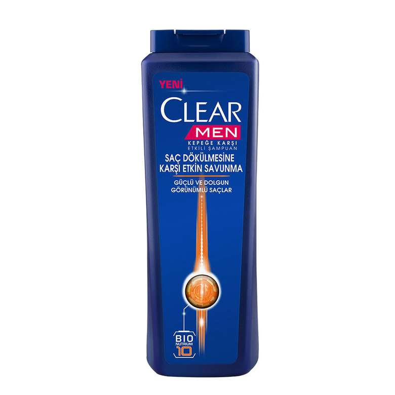 Clear Men Şampuan  Cool Sport 500 Ml