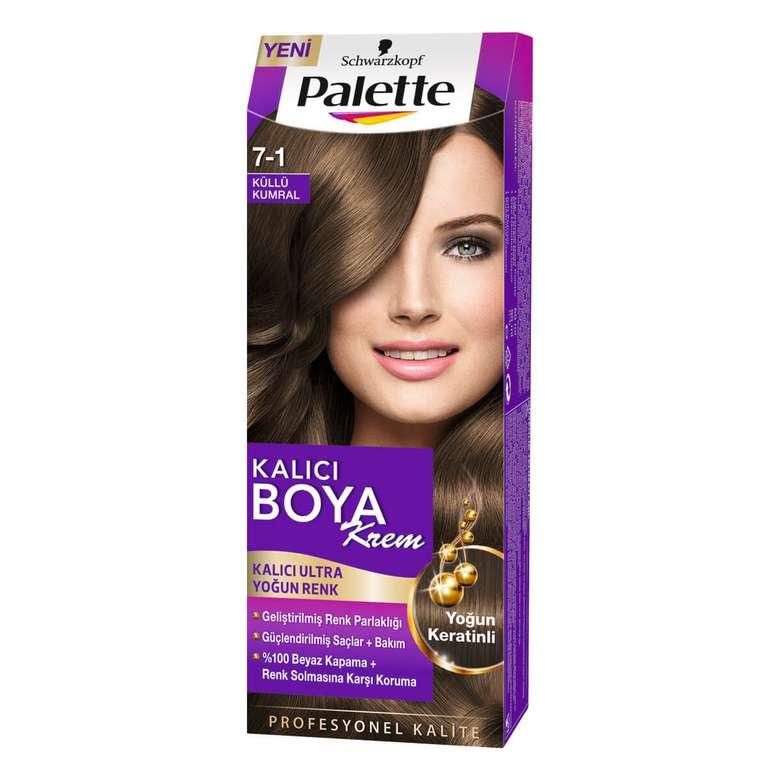 Palette Saç Boyası Basc Palette Küllü Kumral 7-1