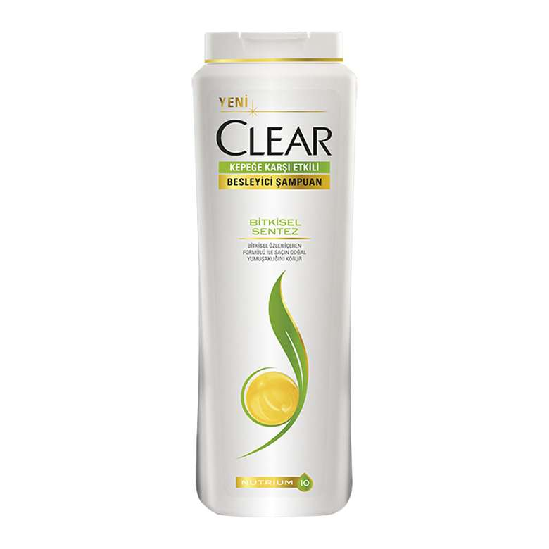 Clear Şampuan  Bitkisel Sentez 500 Ml