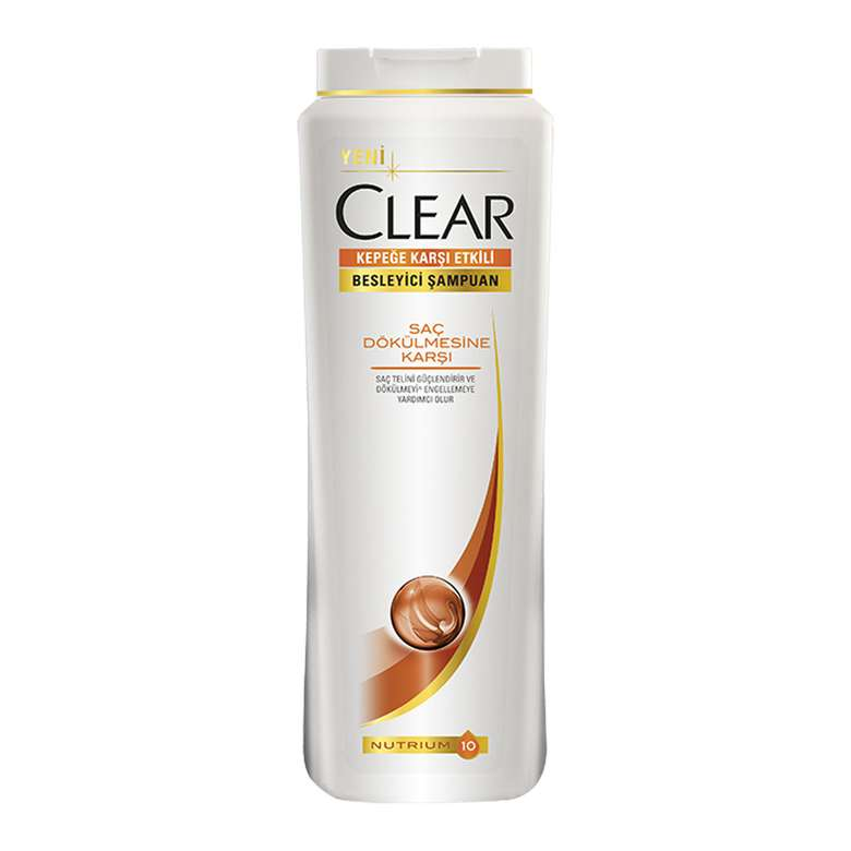 Clear Şampuan Saç Dökülmesi 500 Ml