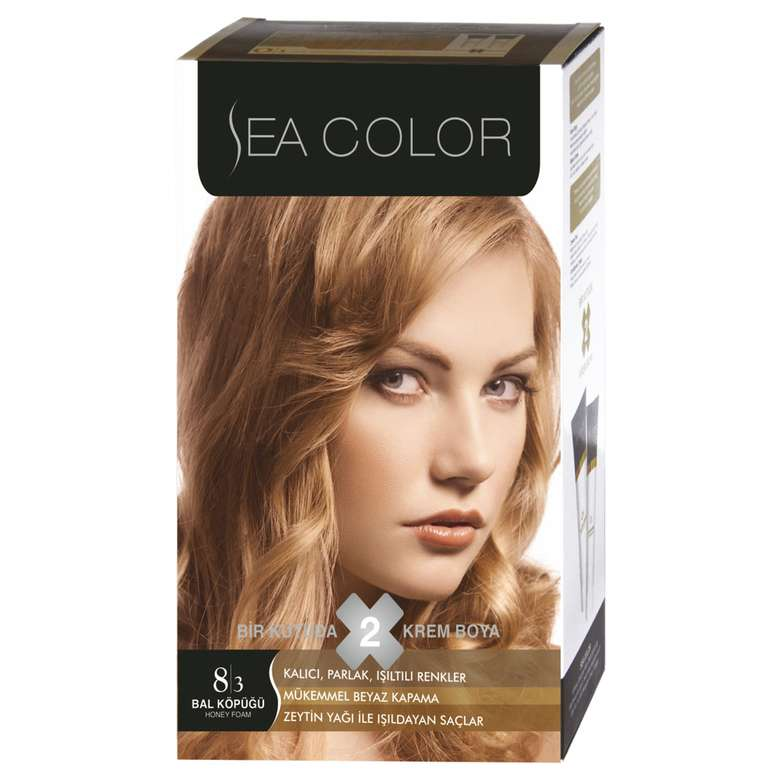 Sea Color Saç Boyası 100 ml Bal Köpüğü 8.3