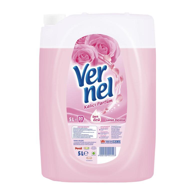 Vernel Çamaşır Yumuşatıcı Gülün Büyüsü 5 L