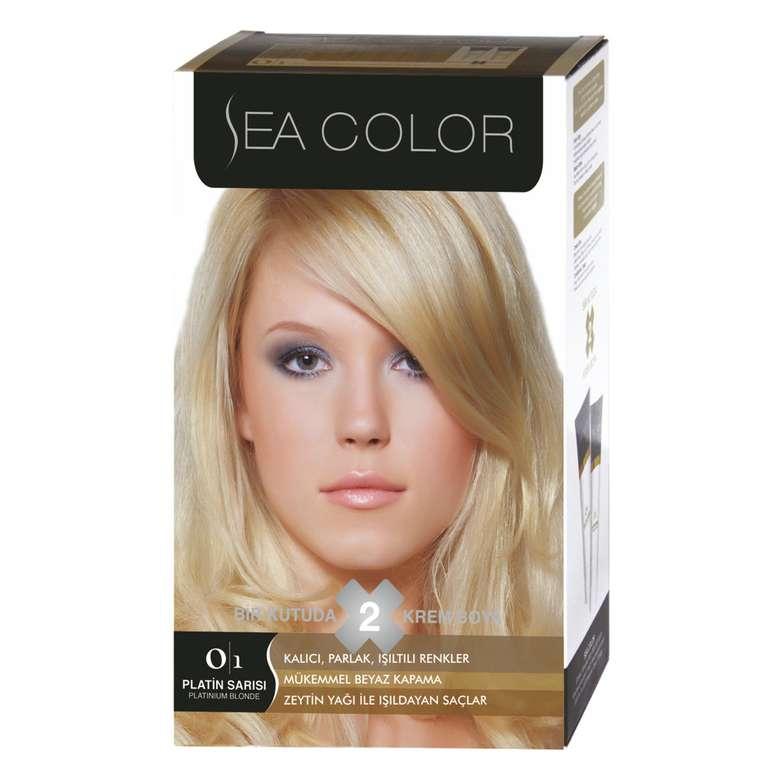 Sea Color Sac Boyasi 100 Ml Platin Sari 0 1 A101