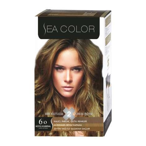 Sea Color Saç Boyası  Koyu Kumral 6.0 100 Ml