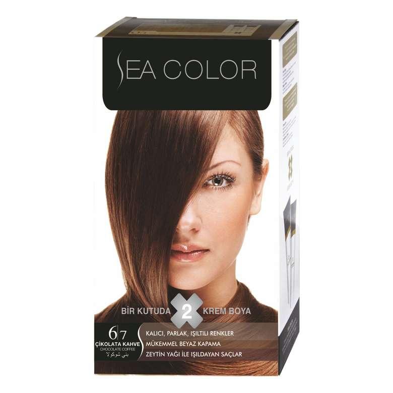 Sea Color Saç Boyası 100 ml Çikolata Kahve 6.7