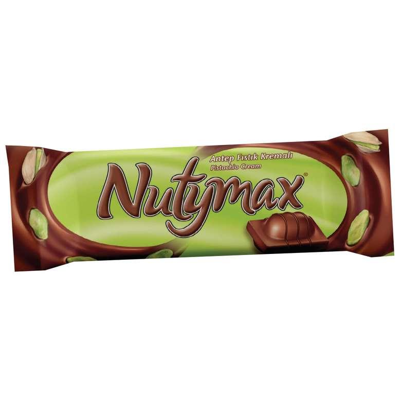 Nutymax Antep Fıstığı Krema Dolgulu Bar Çikolata 44 gr