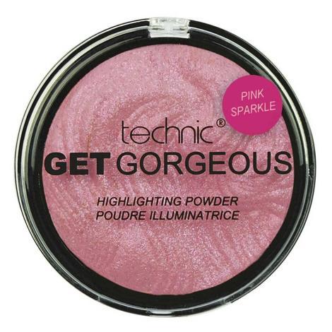 Technic Get Gorgeous Aydınlatıcı Pudra - Pembe