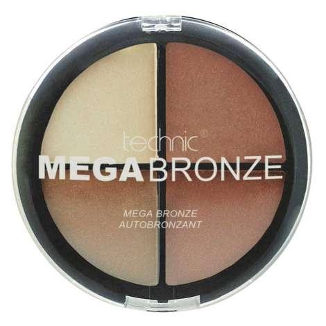 Technic Mega Bronze 4'lü Pudra ve Allık Seti