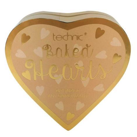 Technic  Baked Hearts Bronzlaştırıcı Allık