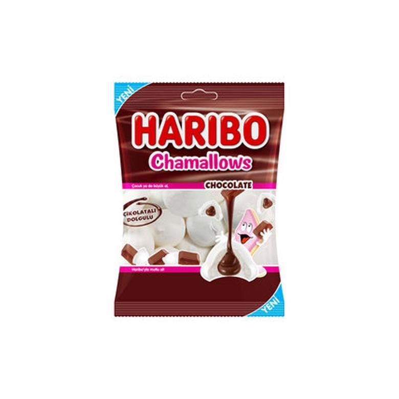 Harıbo Chamallow Yum.şek.çikolatalı 62 G