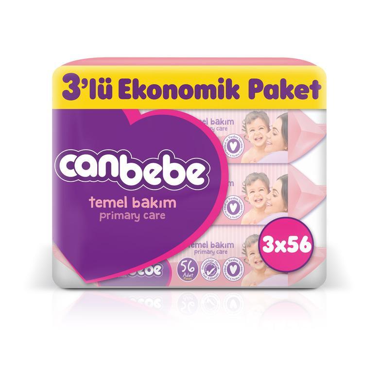 Canbebe Islak Havlu 3x64'lü