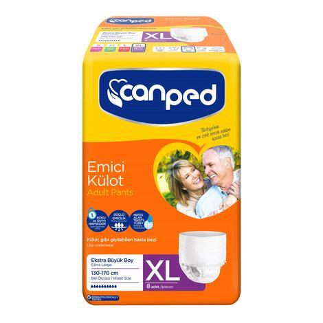Canped Emici Külot Extra Large 8'li