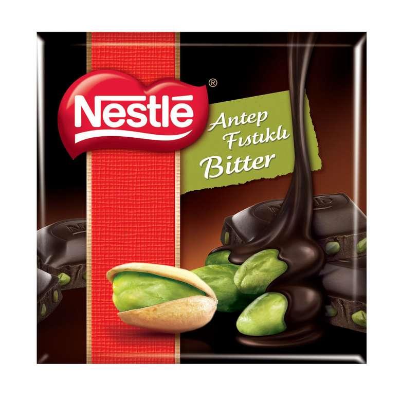 Nestle Çikolata Antep Fıstıklı Bitter 65 G