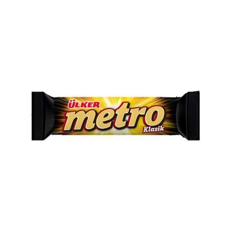 Ülker Metro Bar Çikolata Nugalı 36 G
