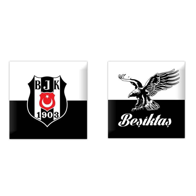 Taraftar Lisanslı Kırlent Beşiktaş 40x40 Cm
