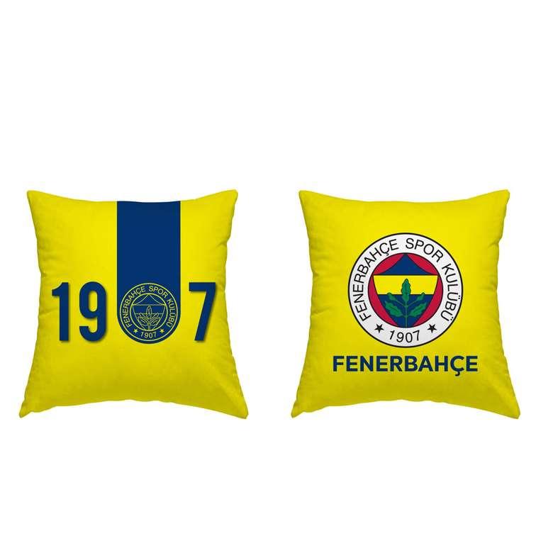 Taraftar Lisanslı Kırlent Fenerbahçe 40x40 Cm