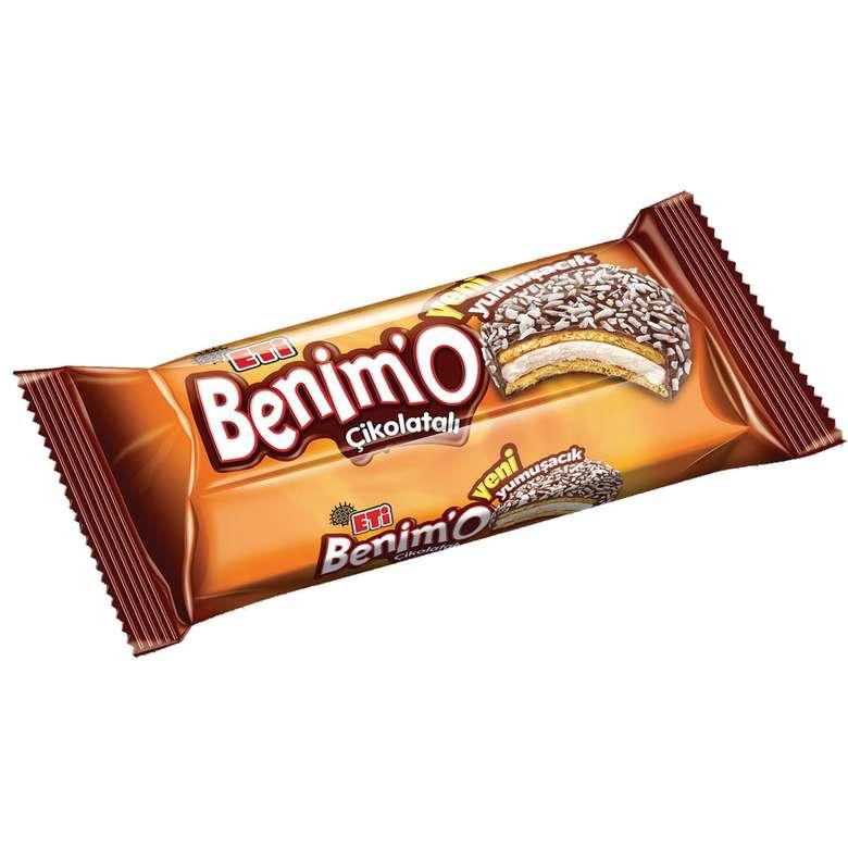 Benimo Bisküvi Çikolata Kaplamalı Marshmallow 12x216g