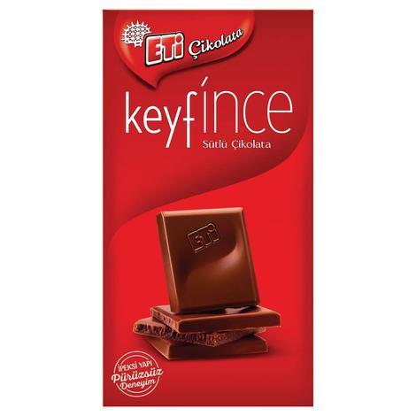 Eti Keyfince Çikolata Sütlü 70 G