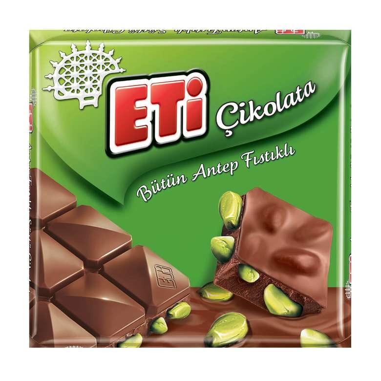 Eti Bütün Antep Fıstıklı Çikolata 80 G