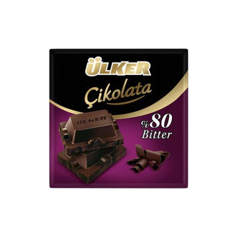 Ülker Çikolata %80 Bitter 60 G