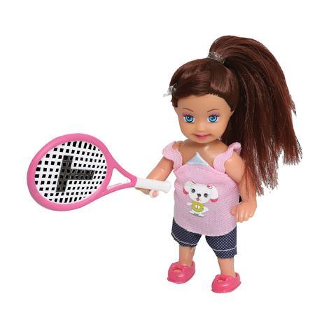 Lollas Petite Tenis Oynayan Esmer Bebek